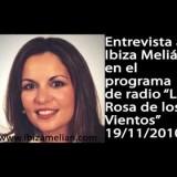 Entrevista de radio a Ibiza Melián (19/11/2010)