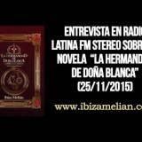 Entrevista en Radio Latina fm stereo (25/11/2015)