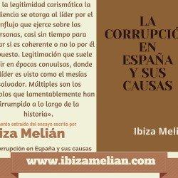 Frase sobre la legitimidad carismática, de la escritora Ibiza Melián