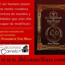 Frase sobre el poder de la mente, de la escritora Ibiza Melián