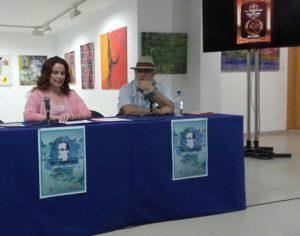 Presentación Feria del Libro Lanzarote, de Ibiza Melián