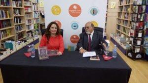 Presentación librería Agapea Tenerife, de la escritora Ibiza Meliá