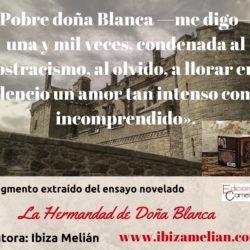 Frase sobre la intensidad del amor, de Ibiza Melián