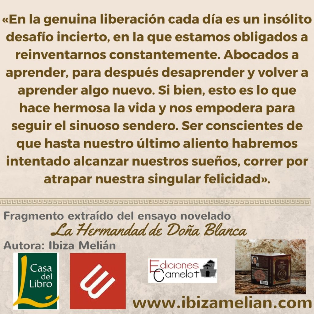 Frase sobre la libertad, de Ibiza Melián
