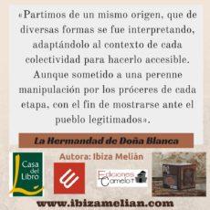 La Hermandad de Doña Blanca, de Ibiza Melián