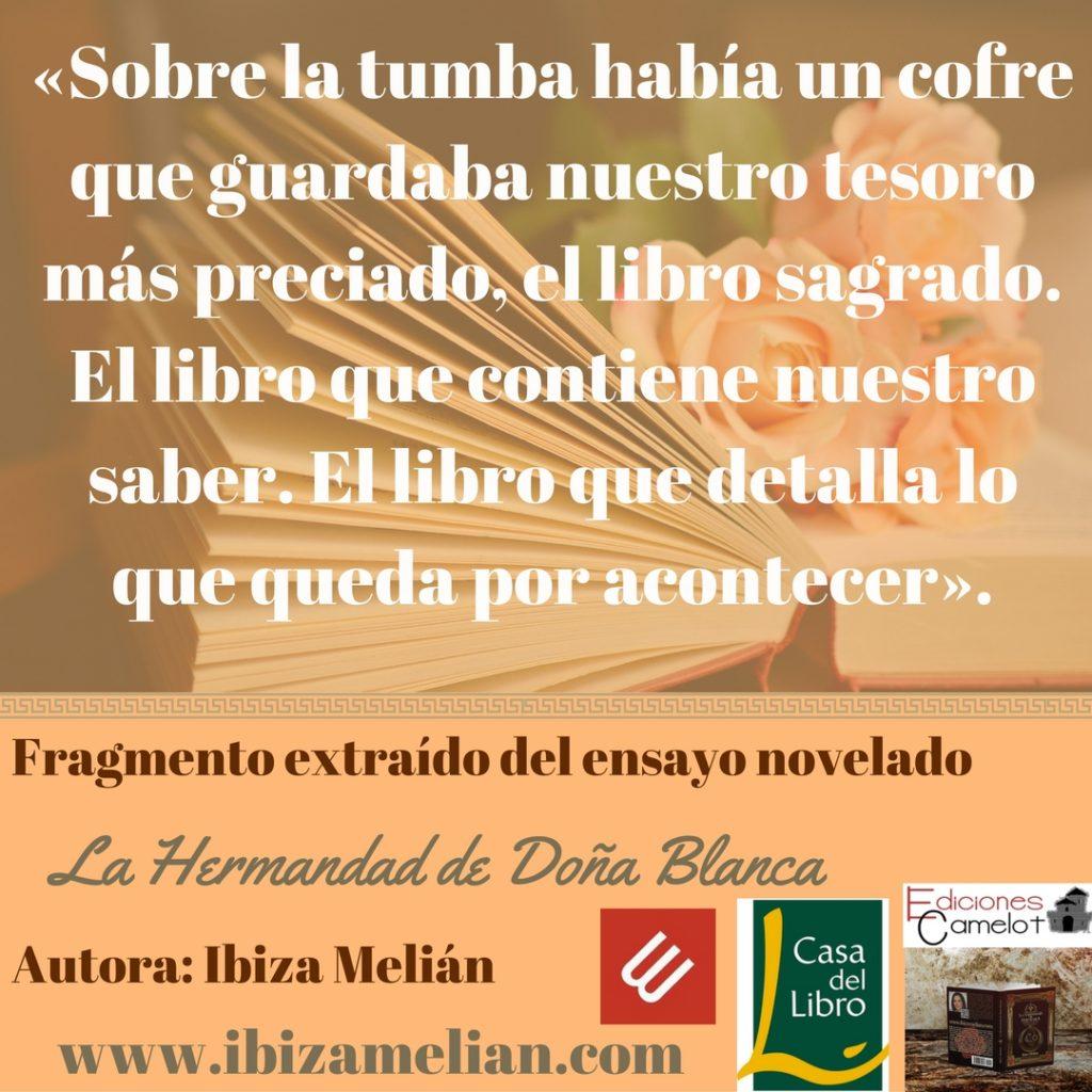 Frase de La Hermandad de Doña Blanca, de Ibiza Melián