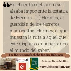 Frase sobre Hermes Trismegisto de Ibiza Melián