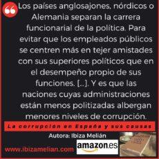 Frase de La corrupción en España y sus causas, de Ibiza Melián