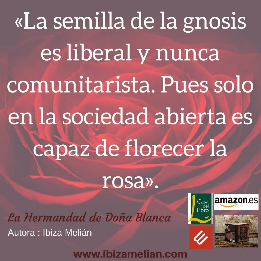 Frase del libro La Hermandad de Doña Blanca, de Ibiza Melián