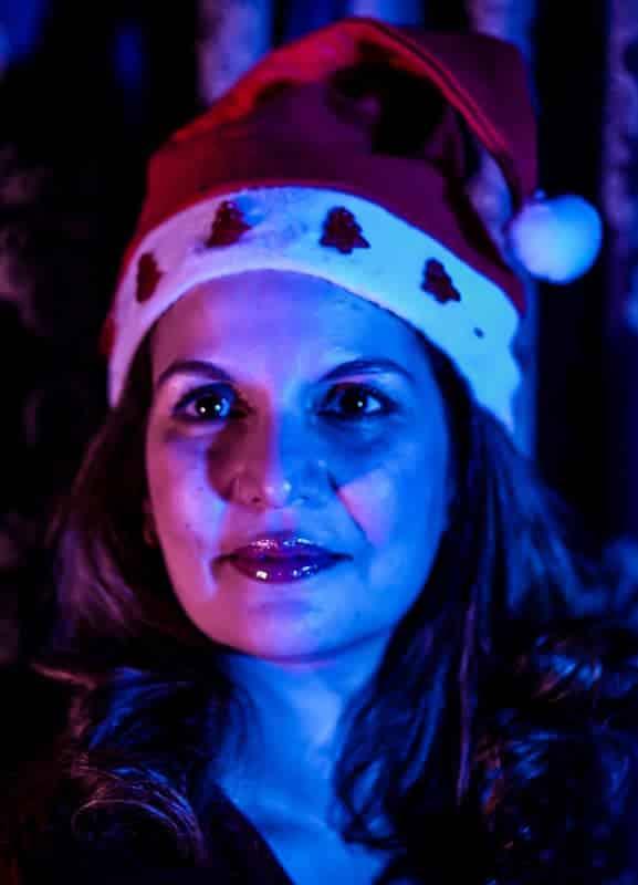 La escritura Ibiza Melián en Navidad