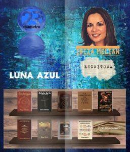 Entrevista a la escritora Ibiza Melián en el programa literario Luna Azul de Radio Diámetro