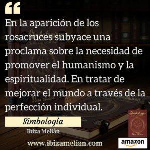 Frase del libro de la escritora Ibiza Melián sobre simbología