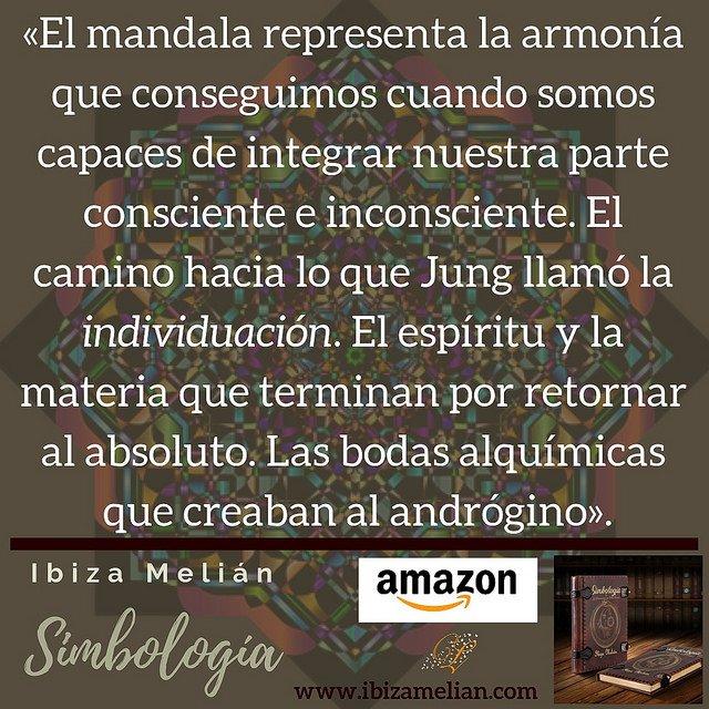 Frase sobre el mandala, de la escritora Ibiza Melián