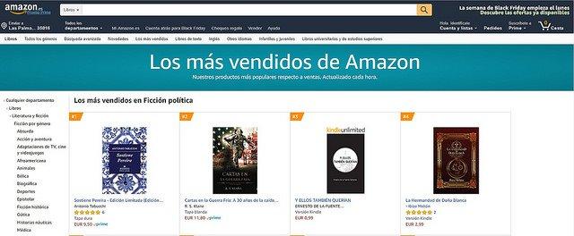 El libro de Ibiza Melián entre los más vendidos de Amazon