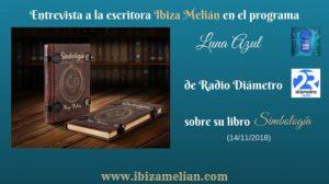 Entrevista en el programa literario Luna Azul de Radio Diámetro