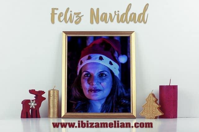 Felicitación navideña de la escritora Ibiza Melián