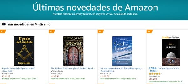 Libro número 1 en Amazon
