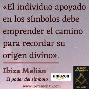 Frase sobre los símbolos, de la escritora Ibiza Melián