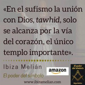 Frase sobre el tawhid, de la escritora Ibiza Melián