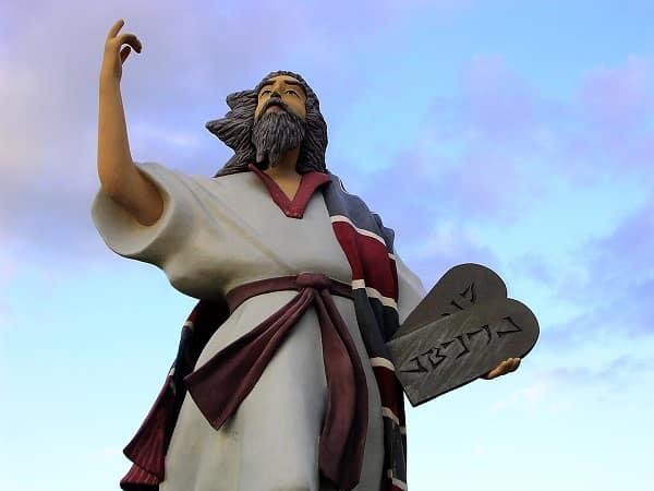 El Moisés de la Biblia