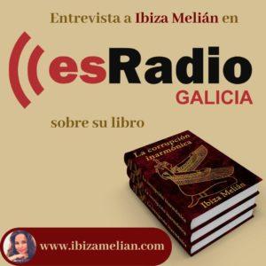 Entrevista a la escritora Ibiza Melián en esRadio Galicia