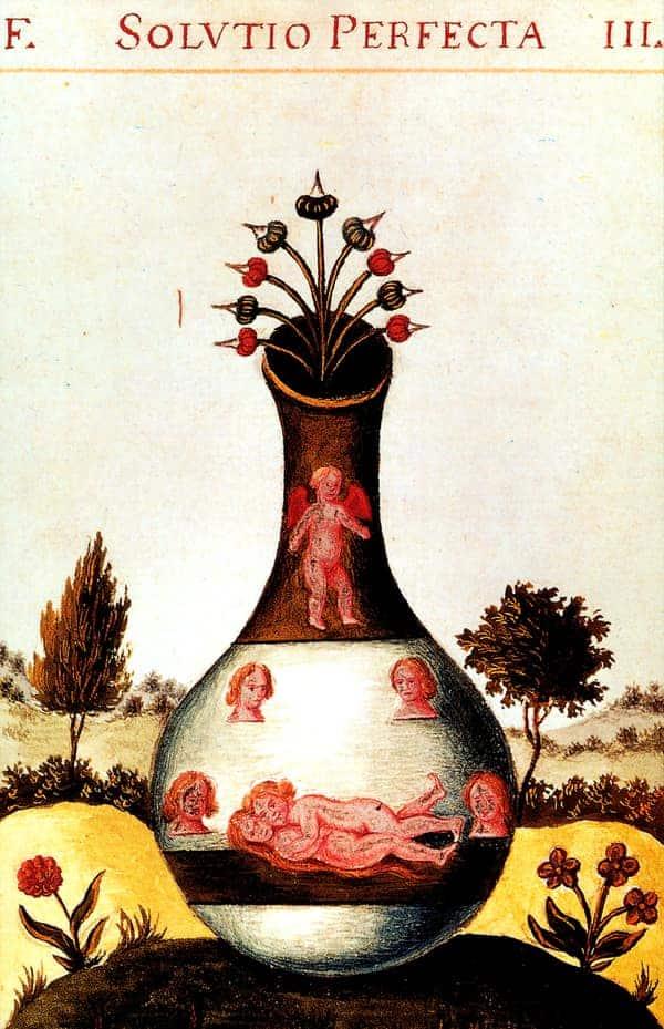 El Golem de los cabalistas equivale al homúnculo de los alquimistas