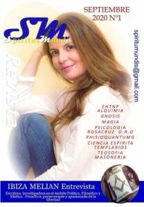 Entrevista a la escritora Ibiza Melián en la revista Spiritus Mundi